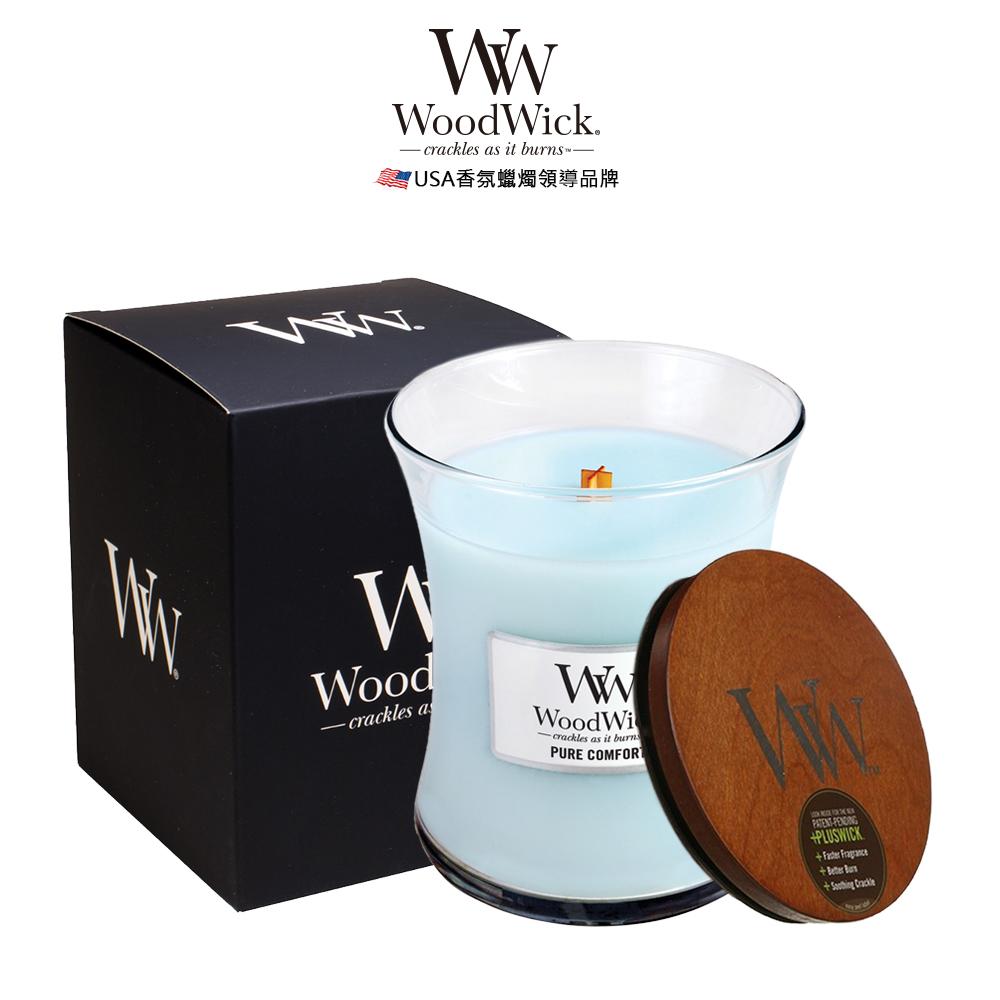美國WoodWick 清幽心境 香氛蠟燭 275g