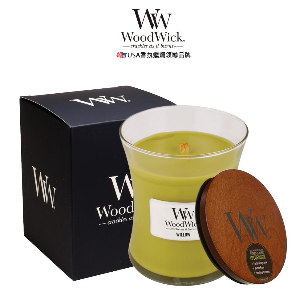 美國WoodWick 柳樹橡苔 香氛蠟燭 275g
