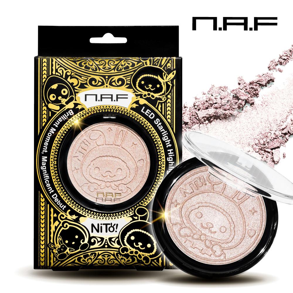 NAF-LED星光打亮餅 (妮兔金裝版)
