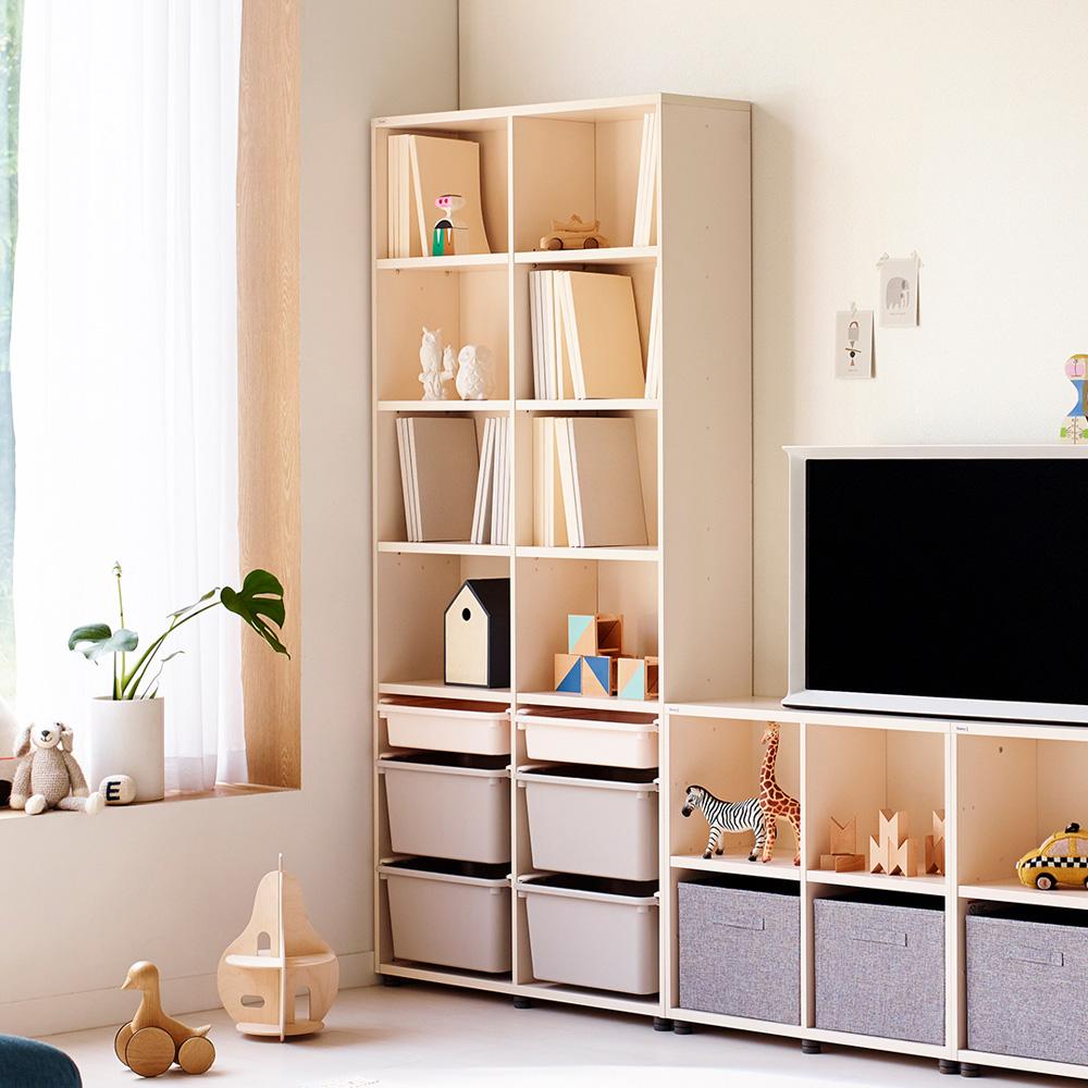 【iloom 怡倫家居】Eddi Kids 950型6層收納櫃(附PL收納盒)(4色可選)