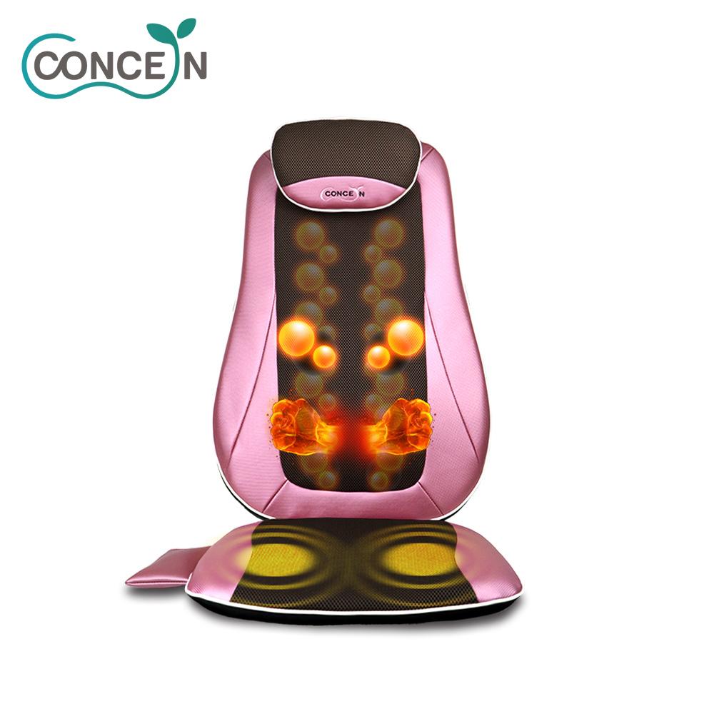 【Concern康生】6D閃耀輕盈揉槌按摩椅墊 CON-2828