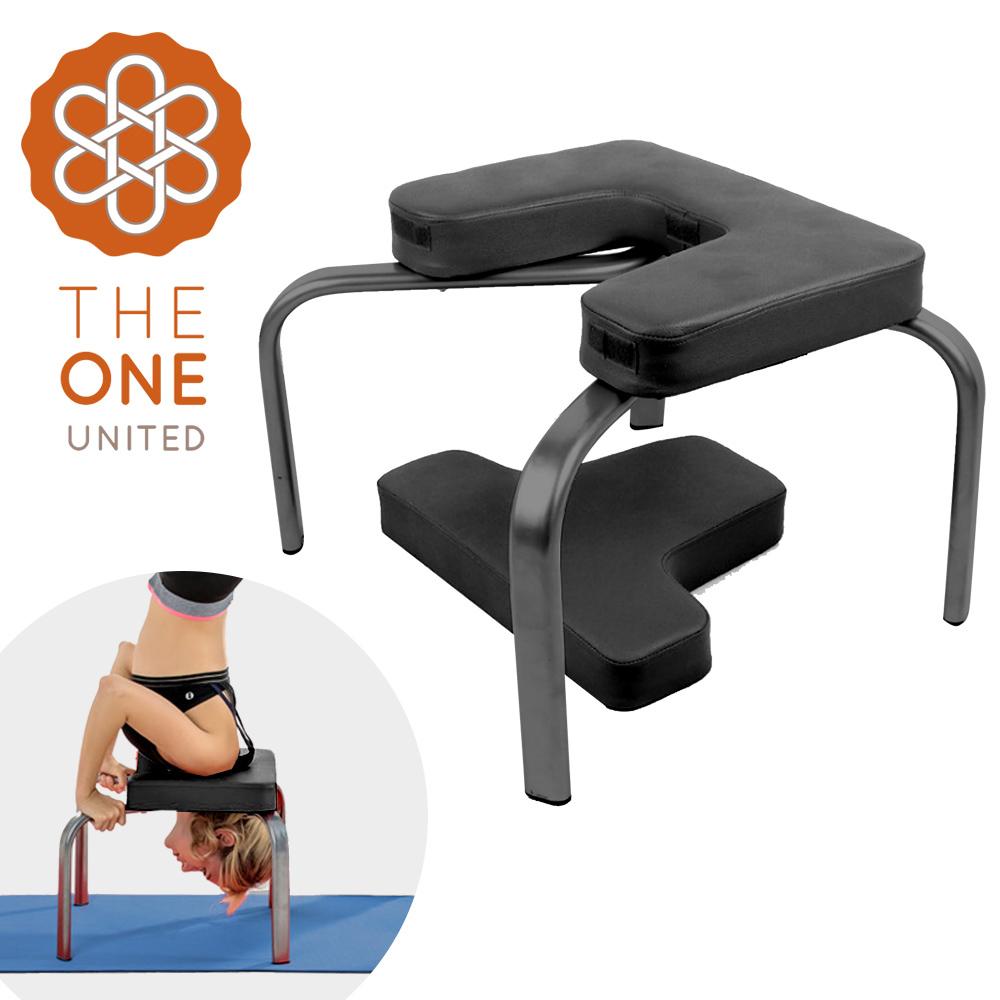 【The One】多功能瑜珈伸展輔助椅/倒立凳/倒立/瑜珈/伸展(兩色任選)