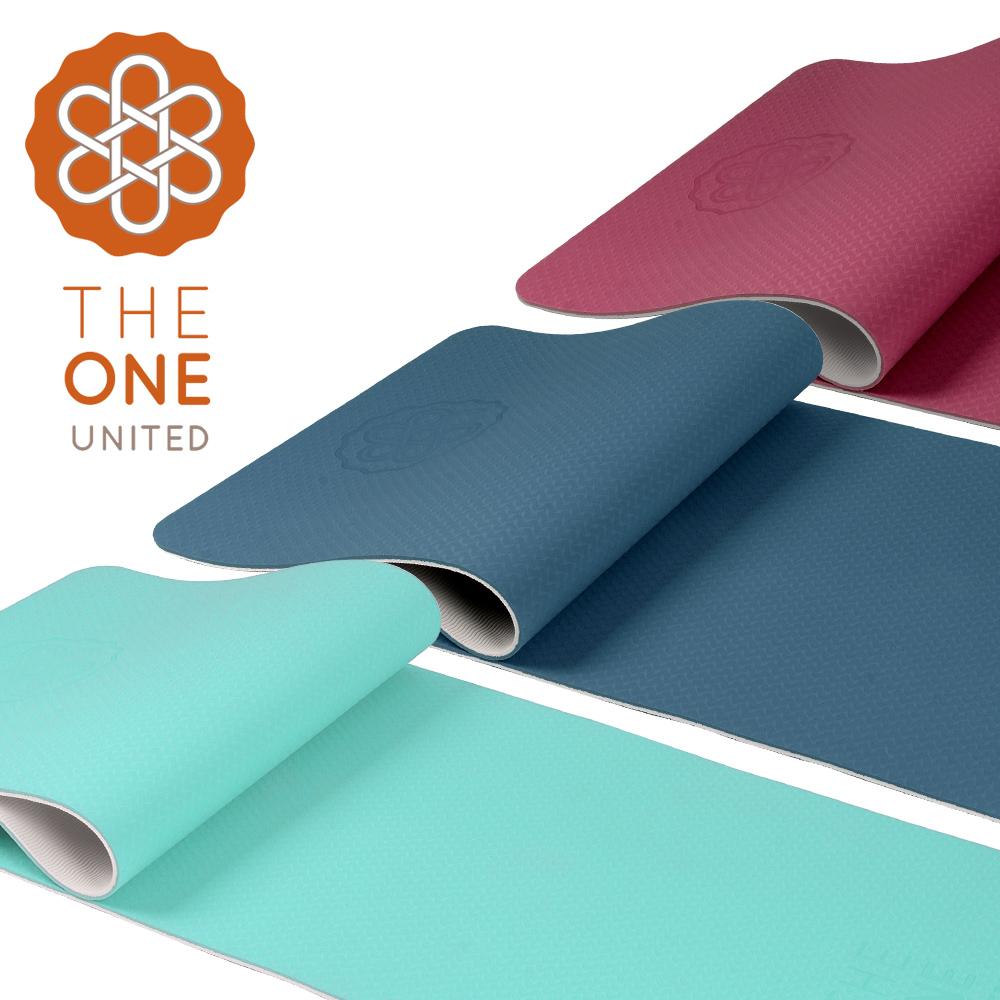 【The One】環保TPE雙色瑜珈墊 6mm(三色任選)