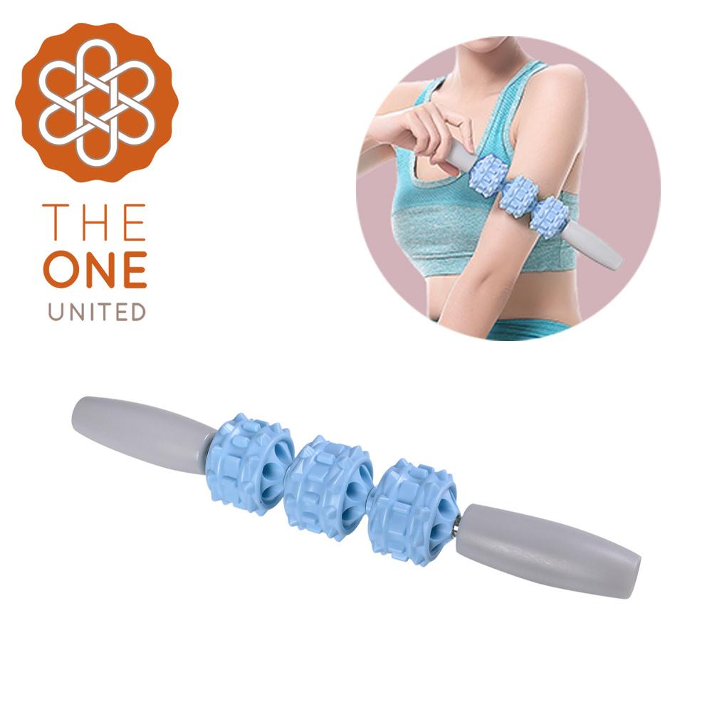 【The One】肌肉按摩滾輪棒(一般款)/按摩滾棒/按摩棒/瑜珈棒(兩色任選)