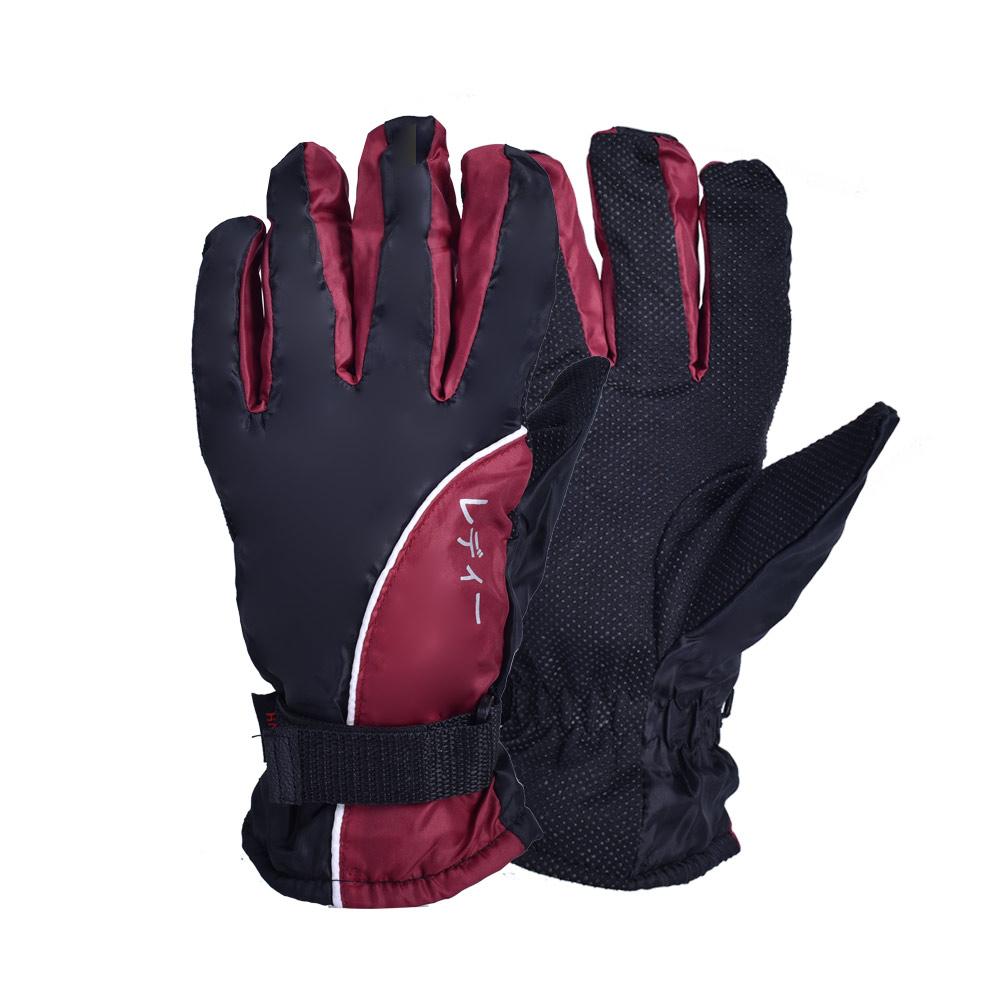 【冬季必備】保暖刷毛防風機車手套(紅黑限定款)