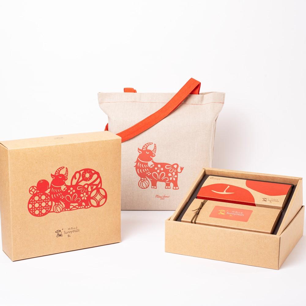 微熱山丘 鳳梨酥蘋果酥禮盒 - 新年限定包裝