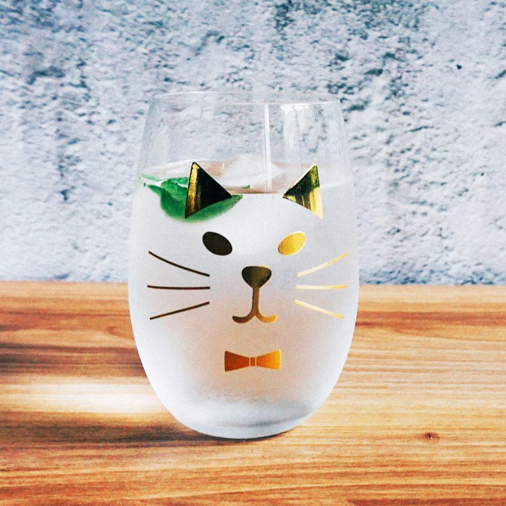 【Homely Zakka】西班牙小貓杯(金色)