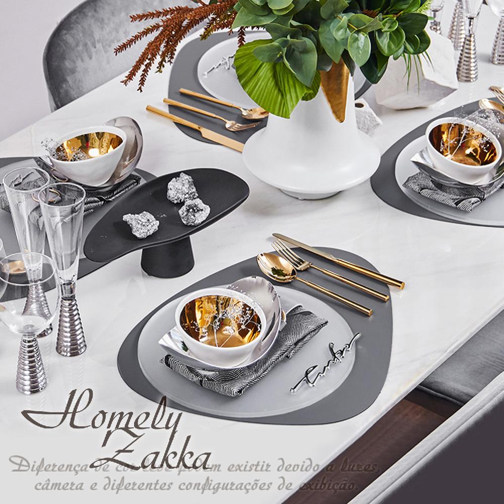 【Homely Zakka】北歐簡約皮革防燙餐墊/隔熱墊/桌墊_三角橢圓形(4色任選)