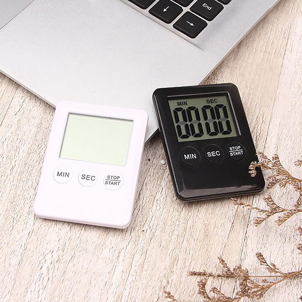 【KM生活】時尚多功能輕薄計時器(2色任選)