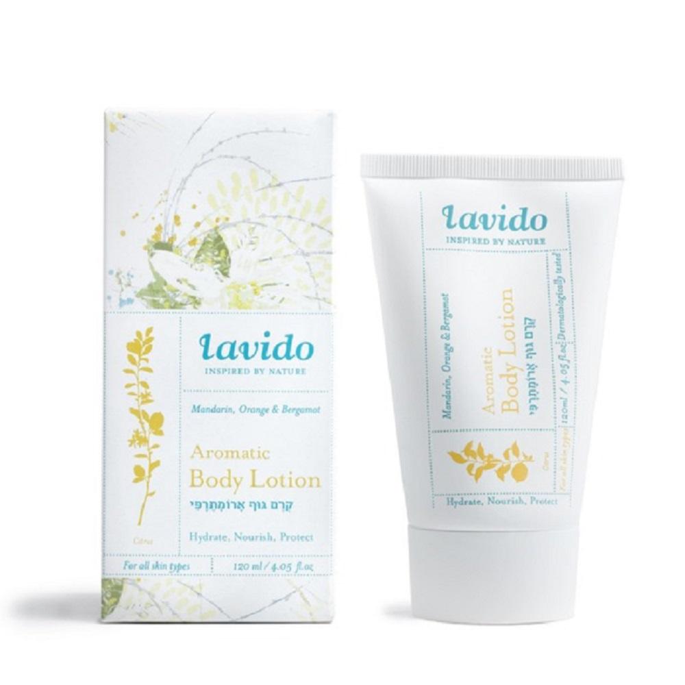 Lavido  拉維朵天然香氛身體乳(佛手柑)