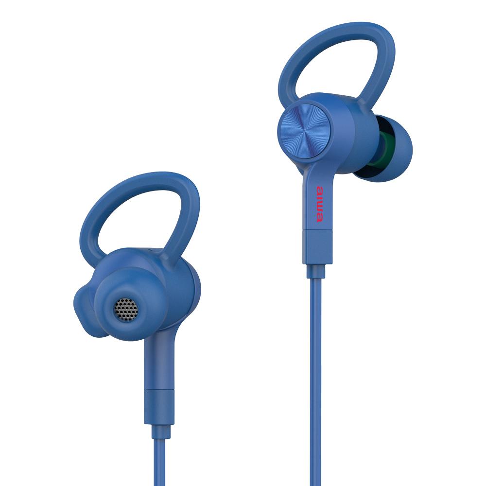 AIWA 愛華 藍芽耳機 EB601BE 藍色