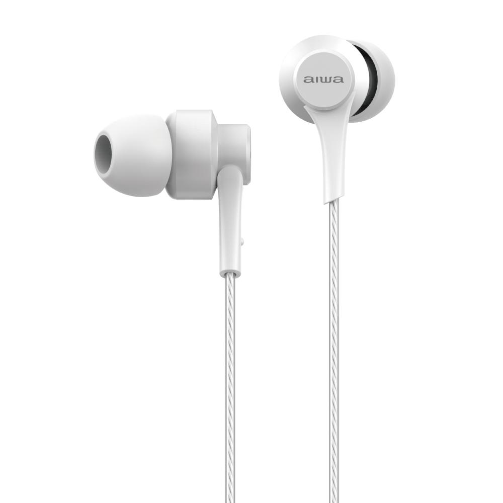 愛華 aiwa 耳機 (耳機有LOGO) EW101WE-V2