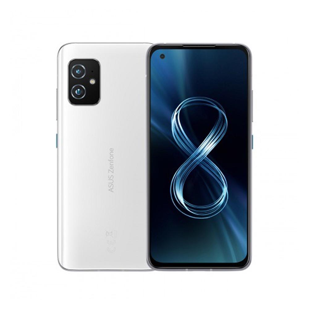 ASUS Zenfone 8 8G/128G 5.9吋 IP6X防塵防水5G智慧手機-輕巧白↗登錄送ZenPower 10000 QC 3.0
