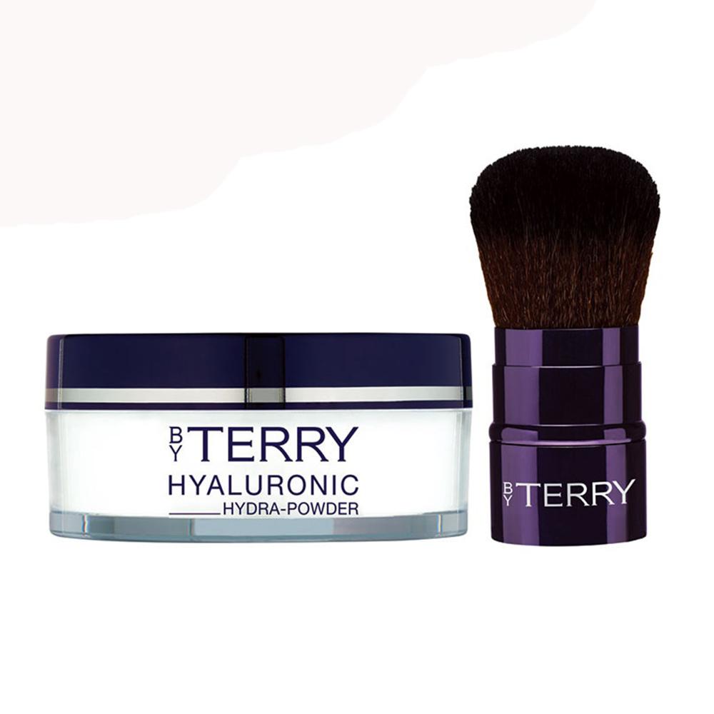 【BY TERRY】 玻尿酸晚安護膚柔焦粉10g(贈送專業完美KABUKI化妝刷)