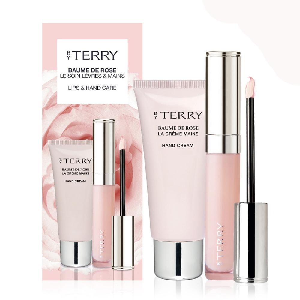 【BY TERRY】玫瑰潤唇蜜7ml+經典玫瑰潤澤護手霜30g (套組)