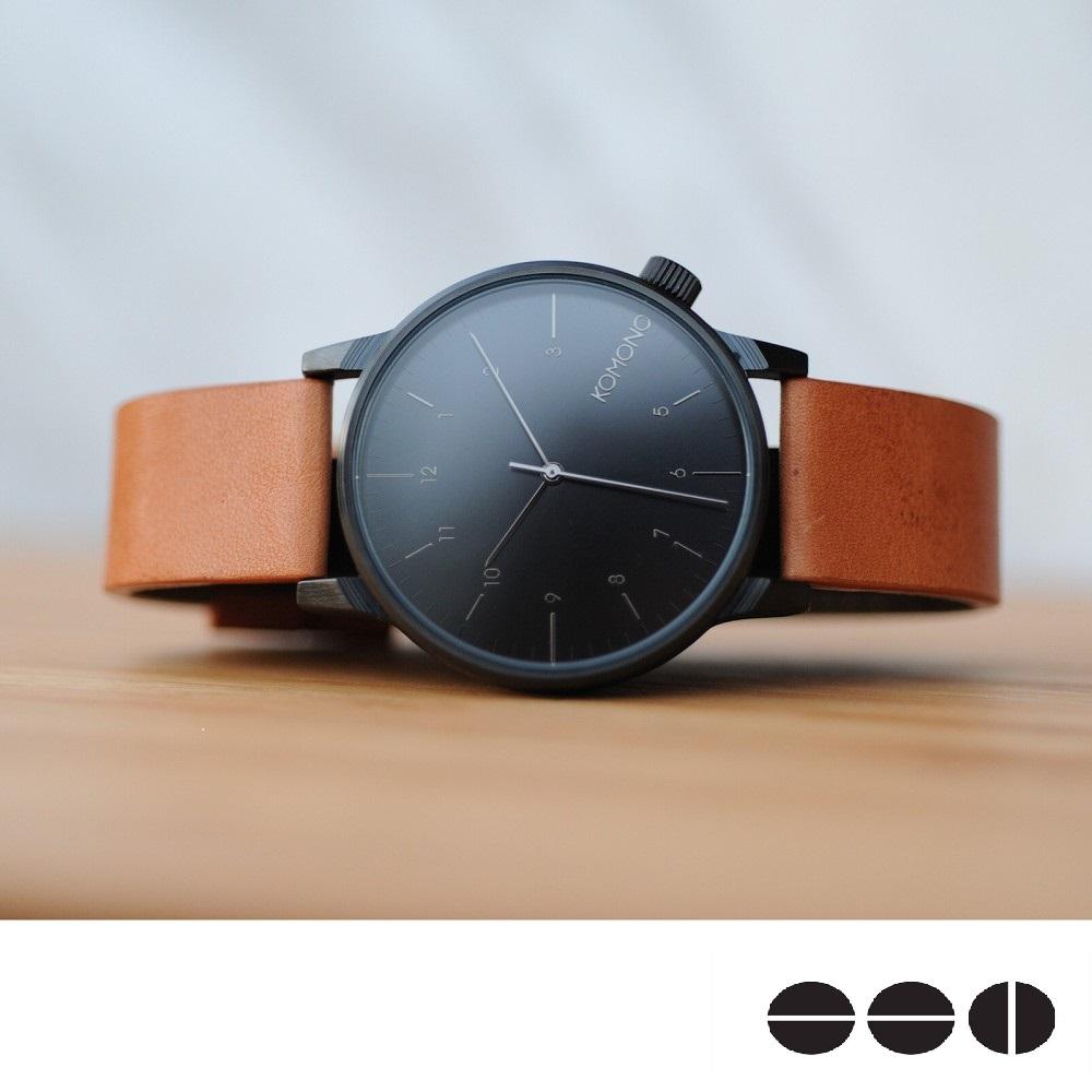KOMONO 時髦雅痞中性腕錶