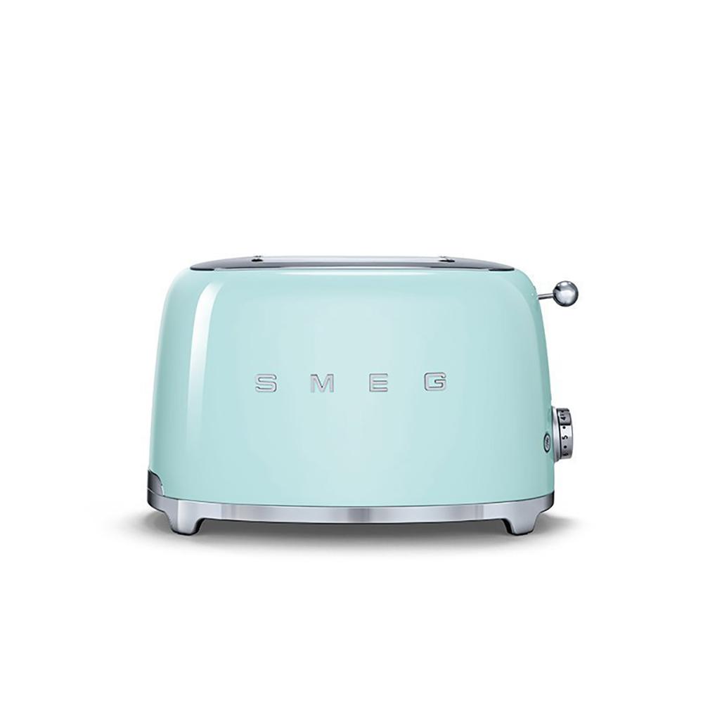 義大利SMEG兩片式烤麵包機 - 粉綠色