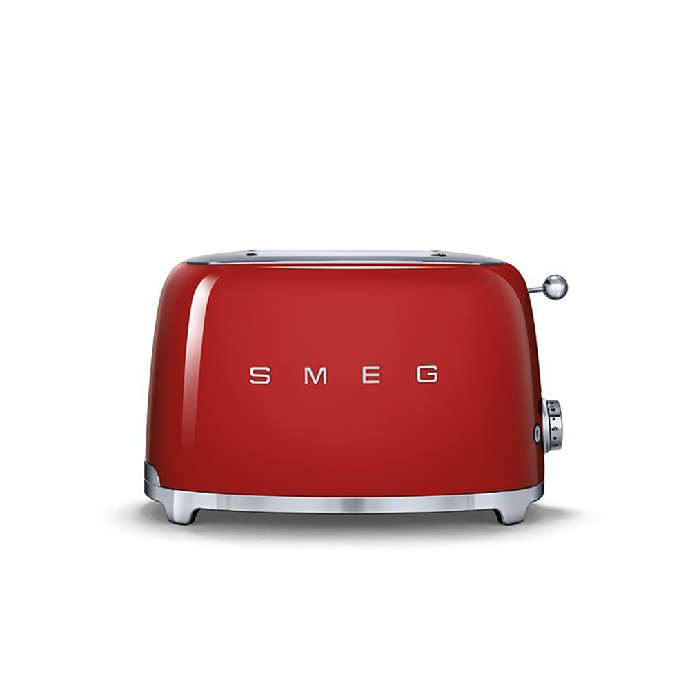 義大利SMEG兩片式烤麵包機 - 魅惑紅