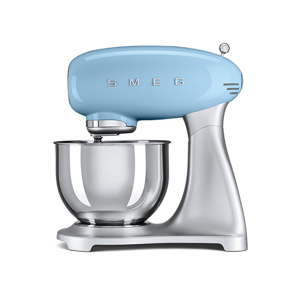 義大利SMEG攪拌機-粉藍色