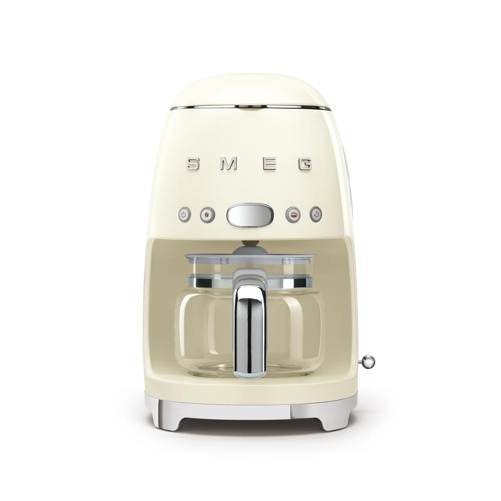 義大利SMEG濾滴式咖啡機 - 奶油色