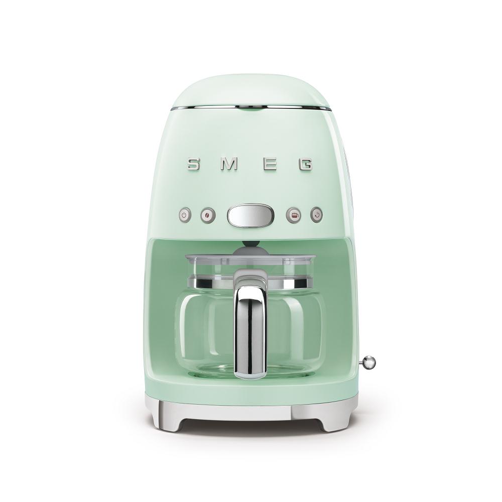 義大利SMEG濾滴式咖啡機 - 粉綠色
