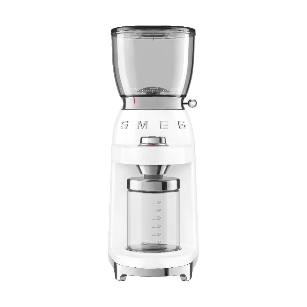 義大利SMEG定量磨豆機 - 珍珠白