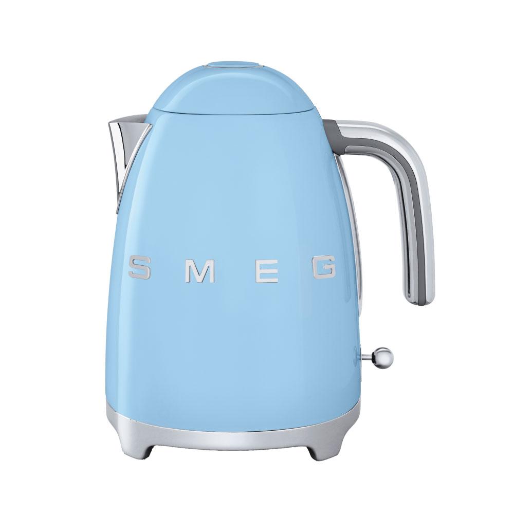義大利SMEG電熱水壺 - 粉藍色