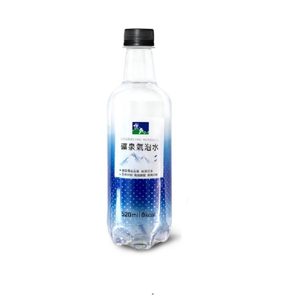 悅氏礦泉氣泡水(520mlx24瓶)