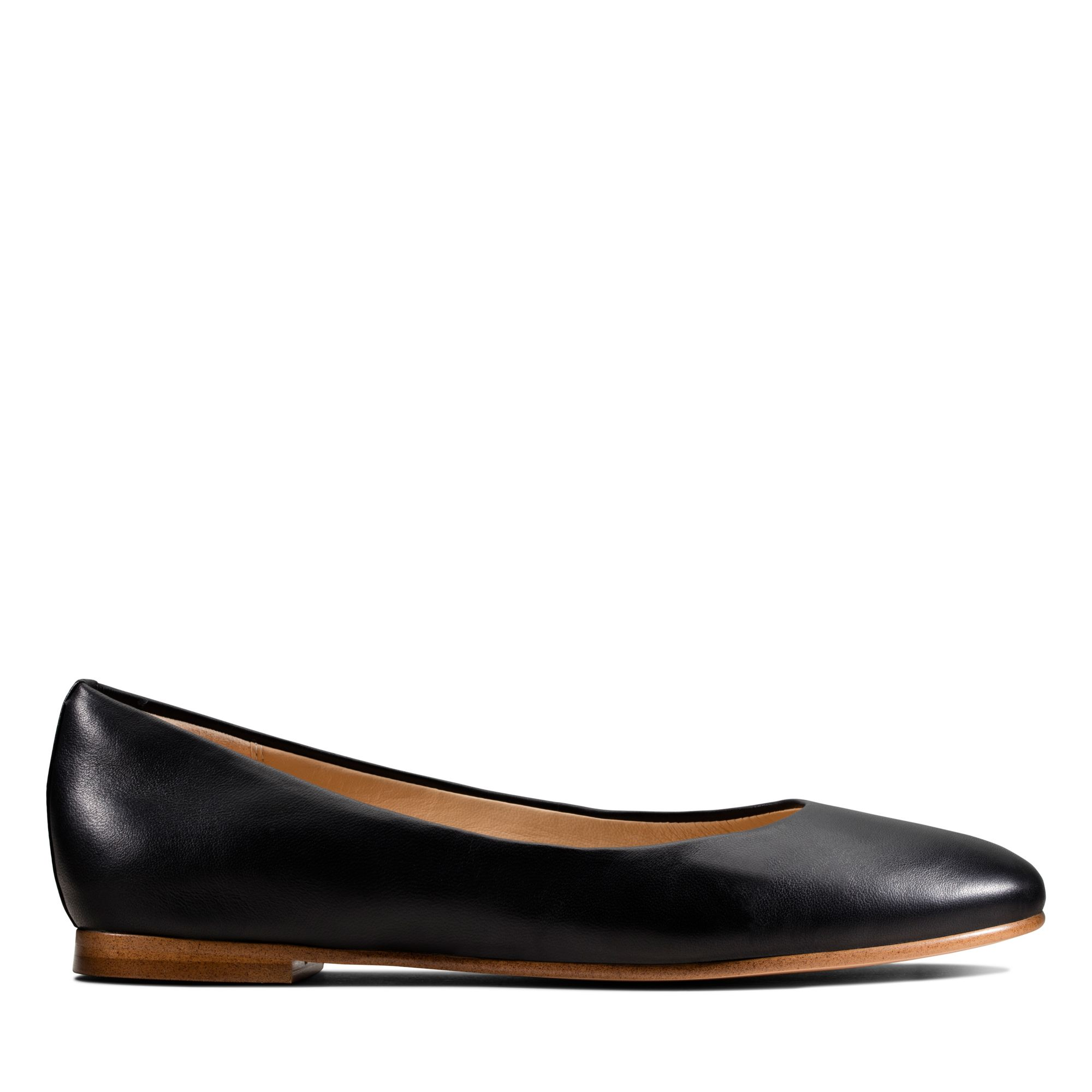 Clarks純甄至柔-Grace Piper芭蕾平底鞋(黑色)