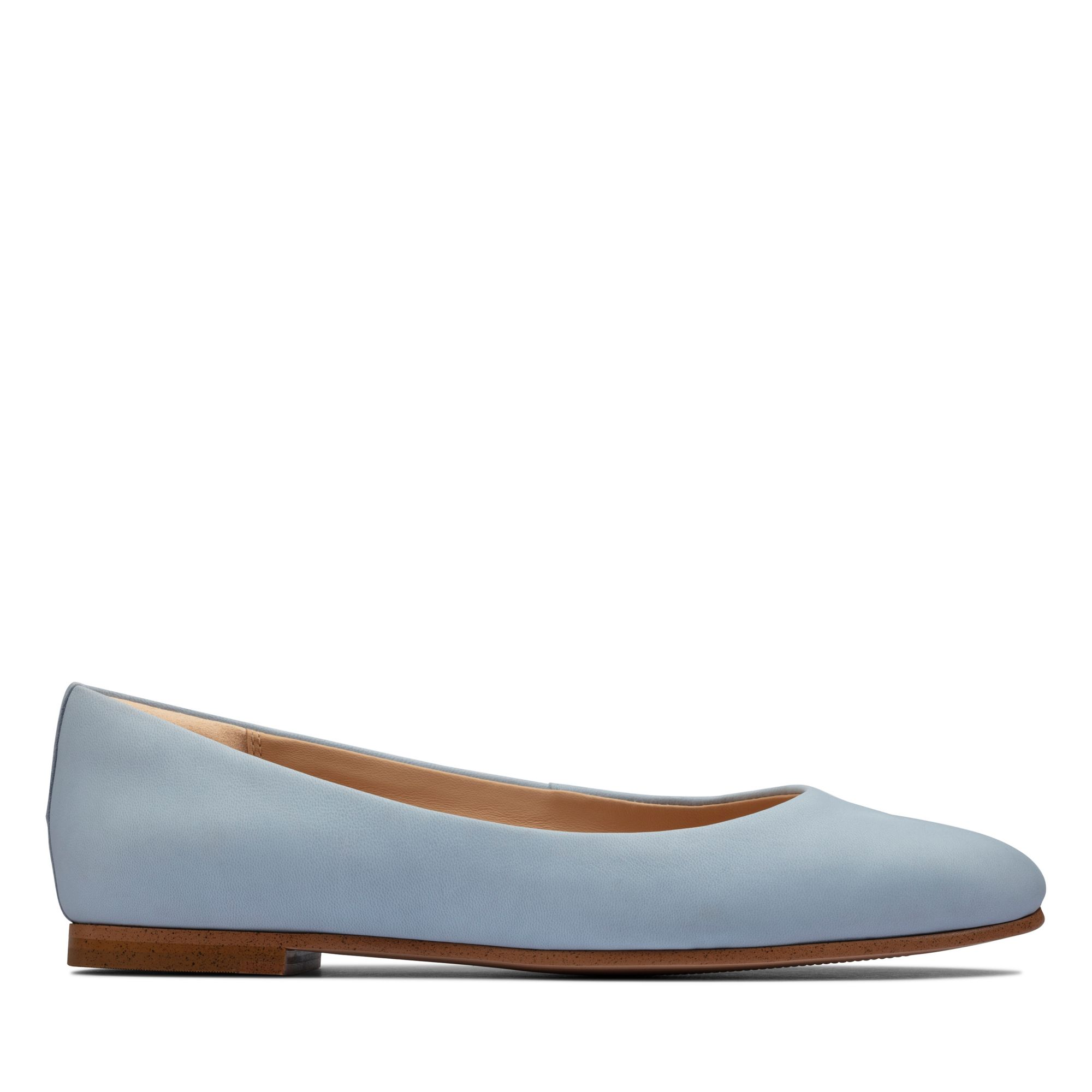 Clarks純甄至柔-Grace Piper芭蕾平底鞋(淡藍色)