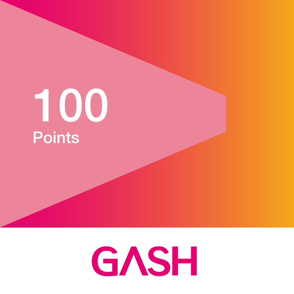 GASH 100點