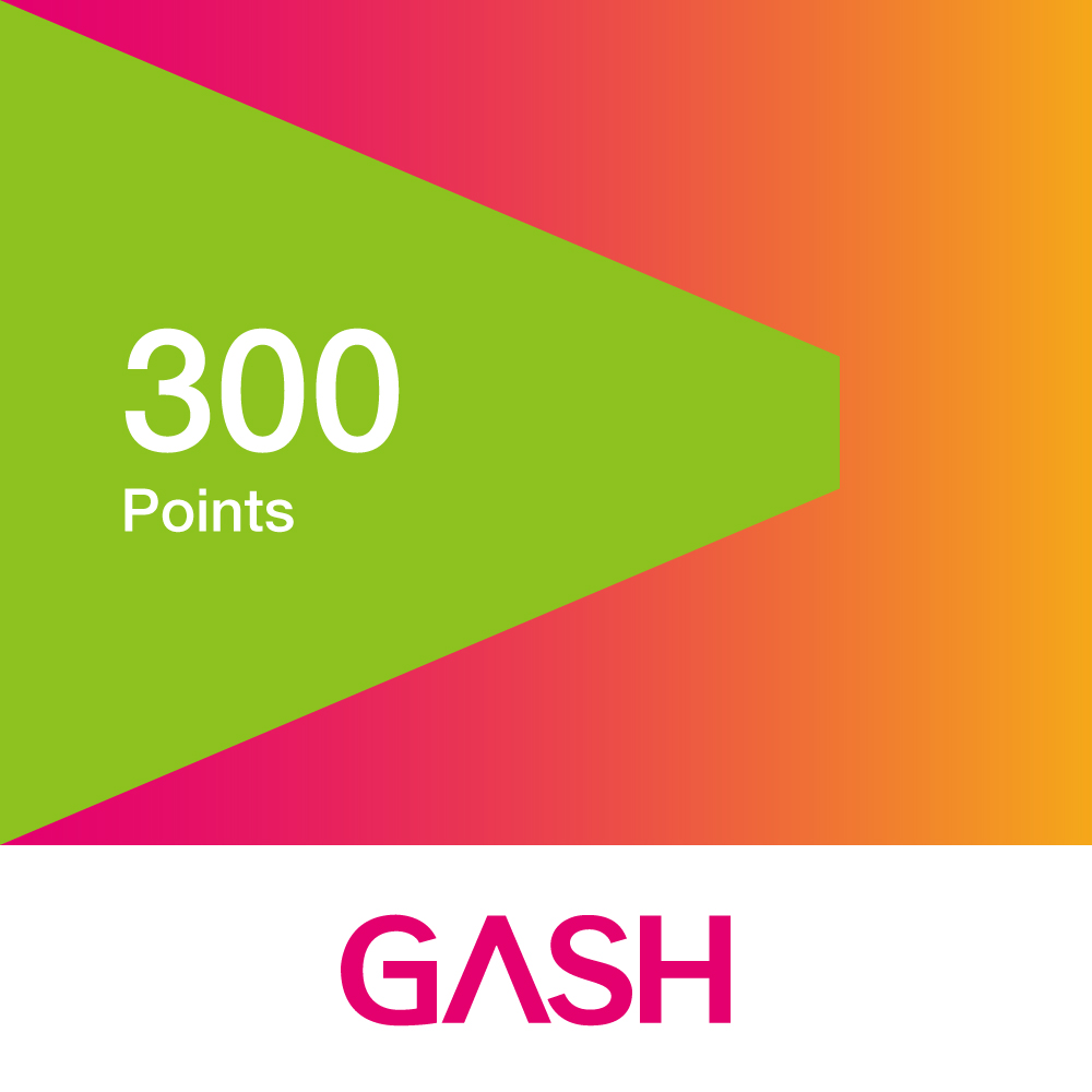 GASH 300點