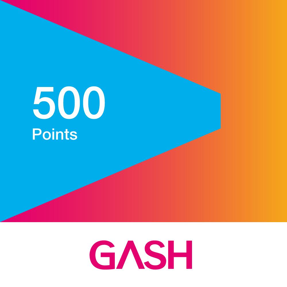 GASH 500點