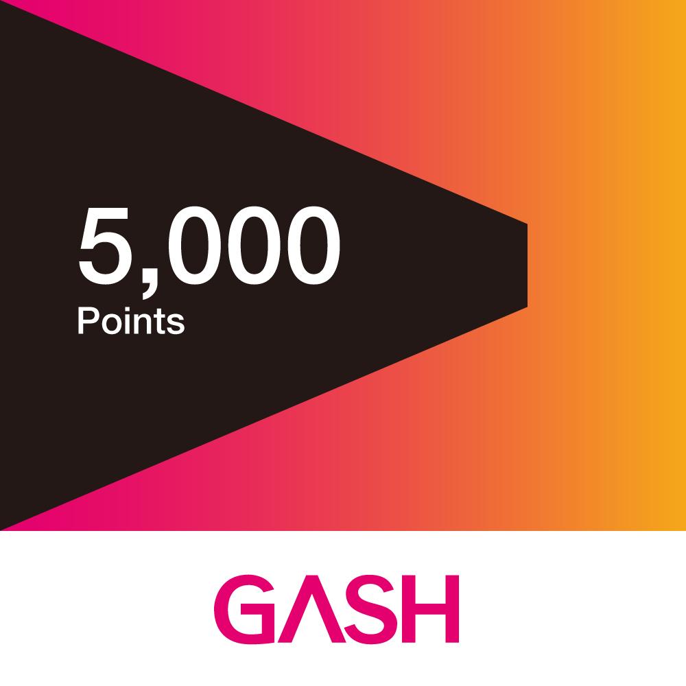 GASH 5000點