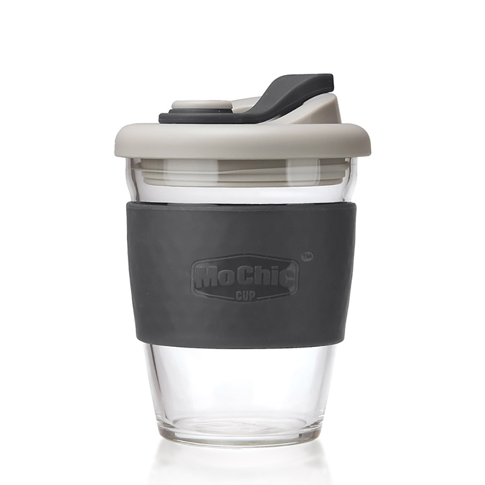 PinUpin 摩西環保防漏隔熱玻璃隨手咖啡杯340ml(6色選)