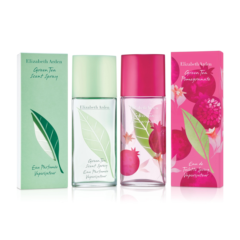 伊麗莎白雅頓綠茶及綠茶紅石榴淡香水雙瓶裝(50mlX2)