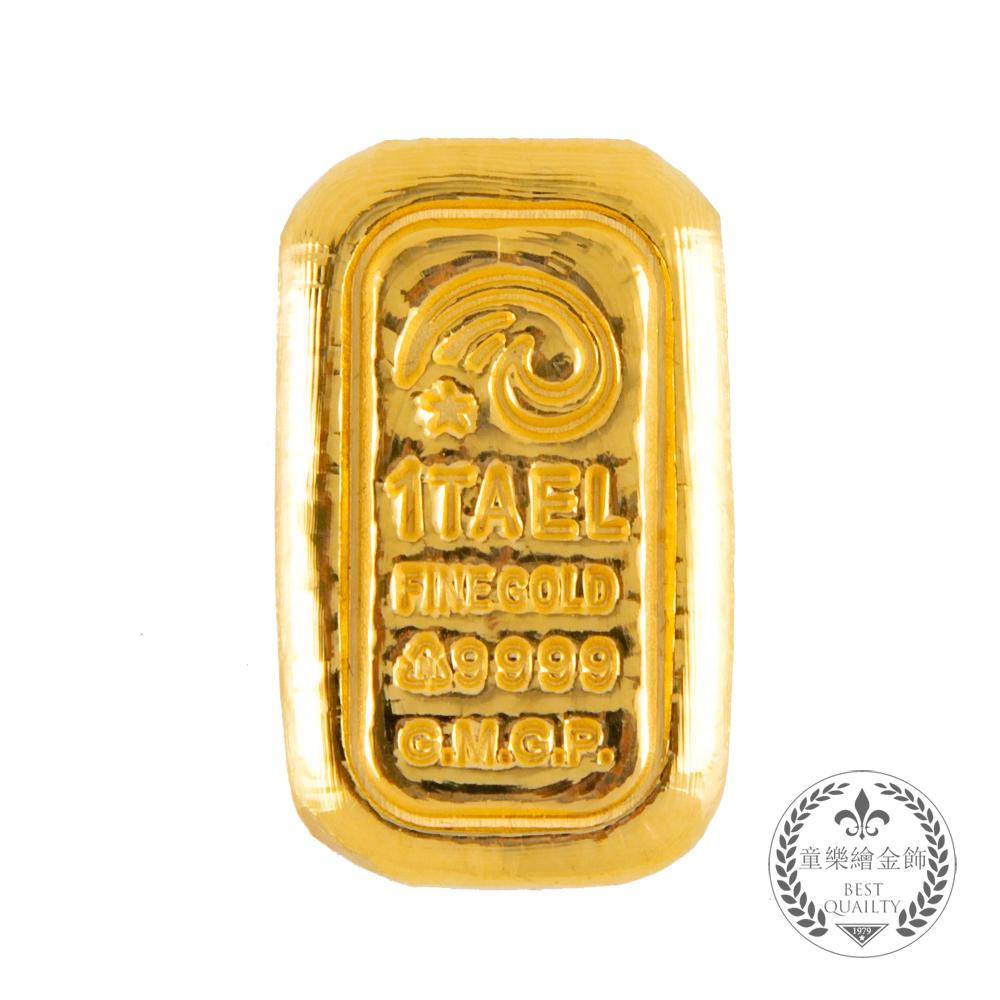 【童樂繪金飾】1台兩幸運星金條金重37.5公克