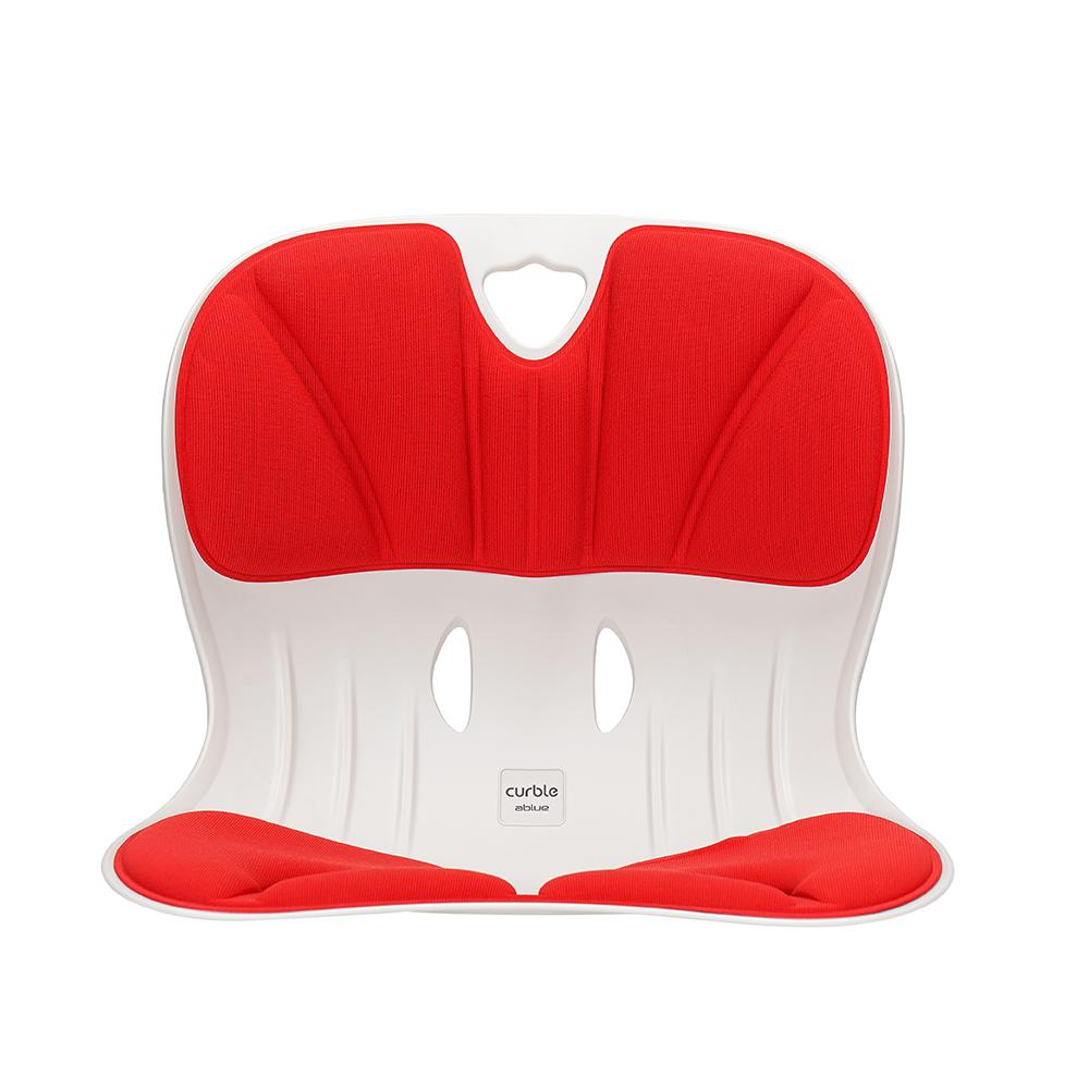 Curble Wider 3D護脊美學椅-牡丹紅