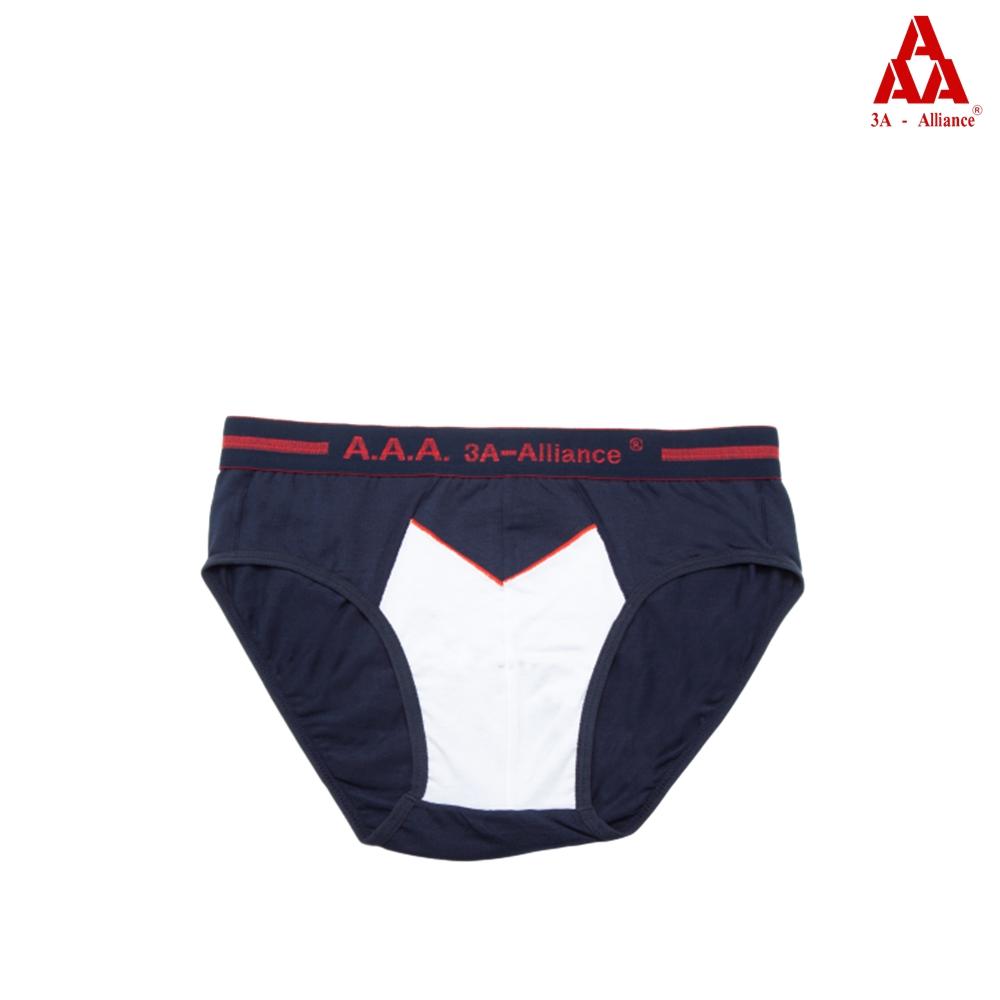 【3A-Alliance】撞色風格派男貼身三角褲