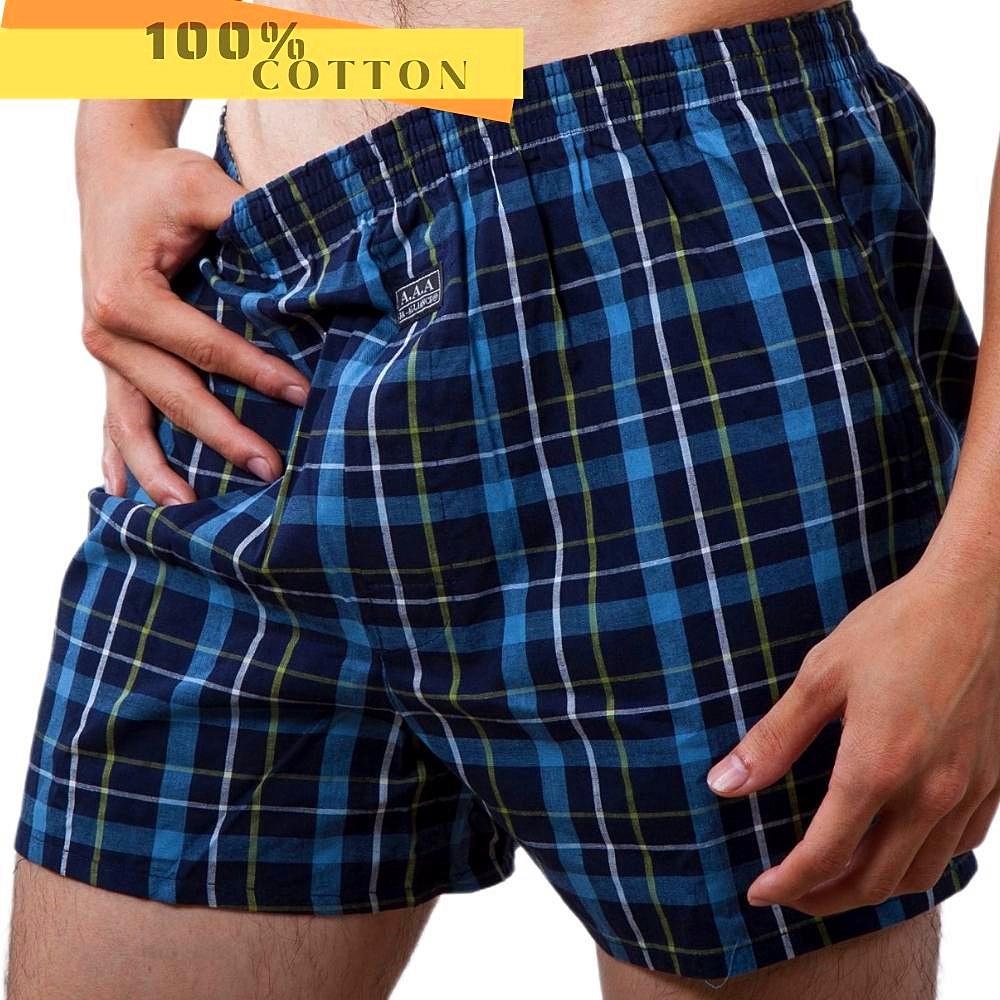 【3A-Alliance】英式格紋平口褲/6件組合