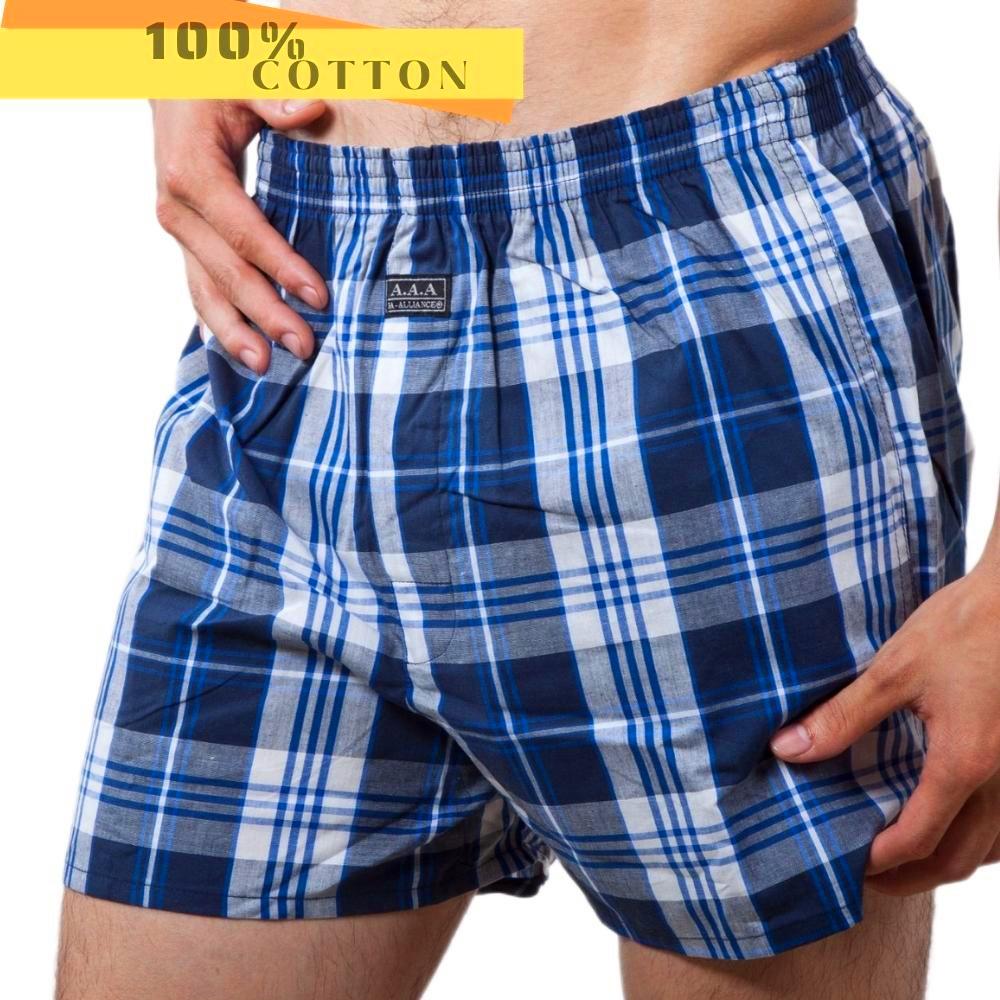 【3A-Alliance】英式格紋平口褲/12件組合