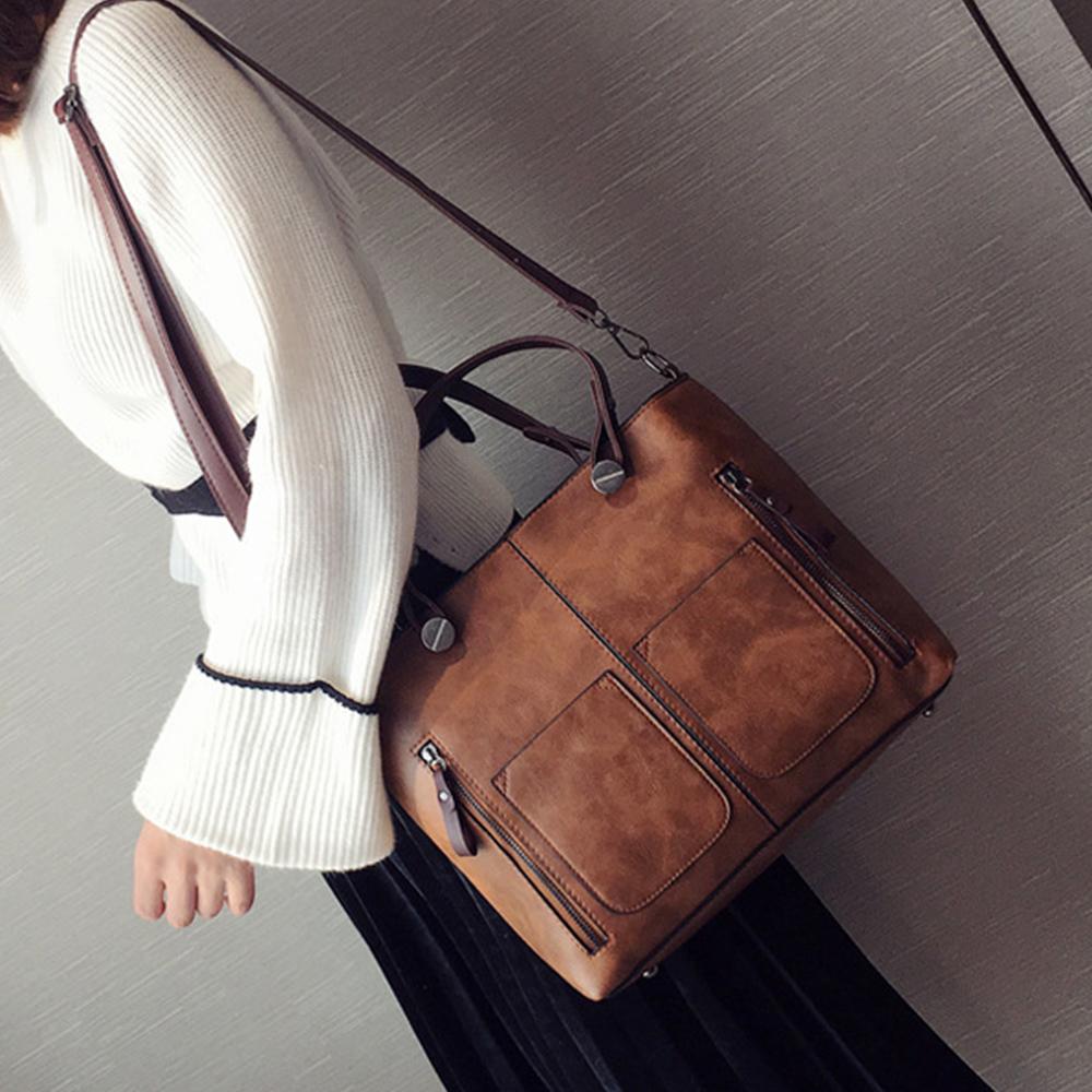 【BONum 博紐】女用文青風高端設計外出輕便包