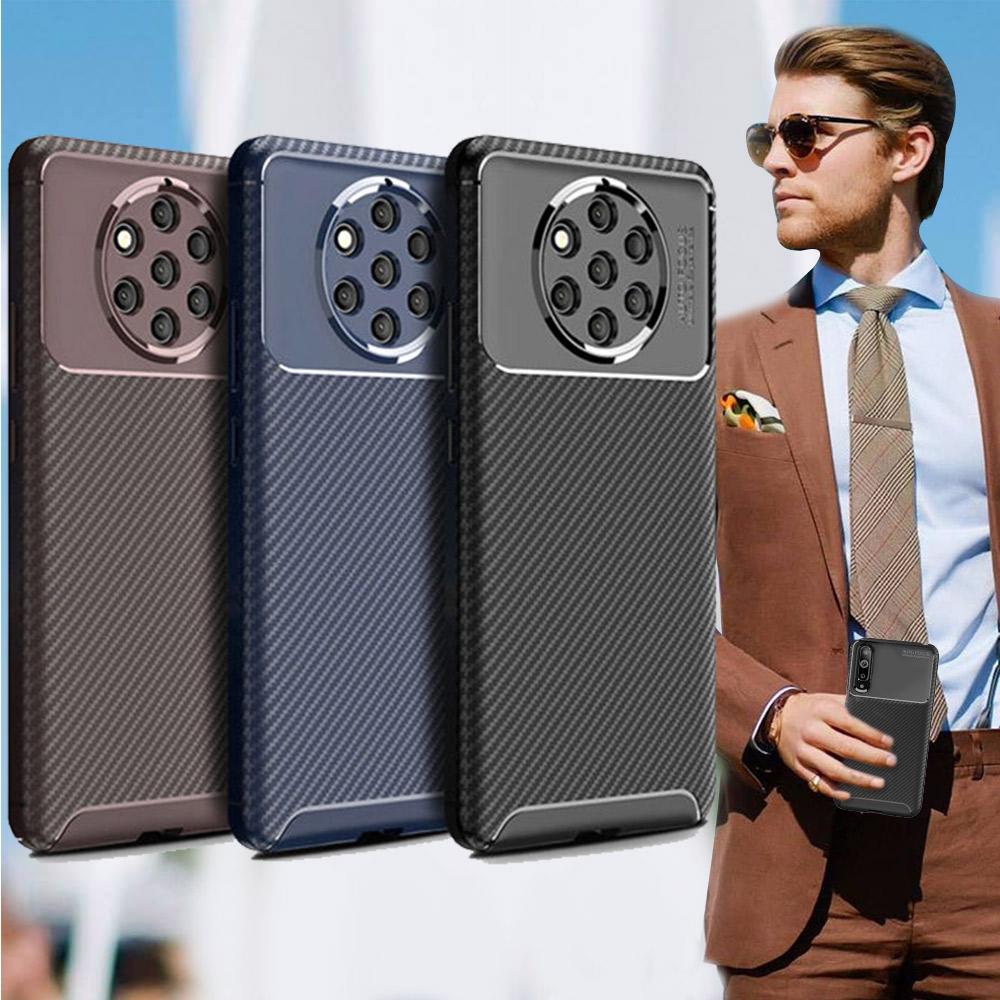 爵士焦點 NOKIA 9 PureView 碳纖維防指紋軟式手機殼