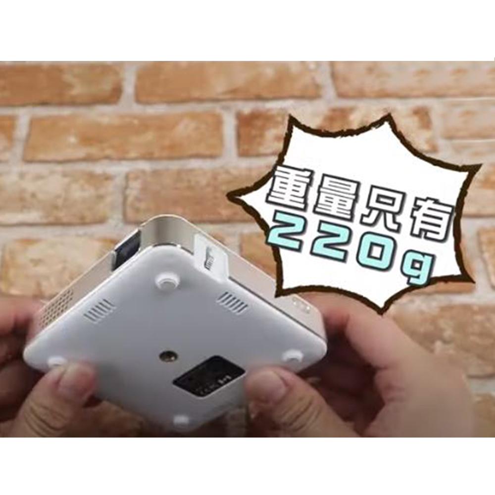 【DR.MANGO】無線投影DLP行動微型投影機S65